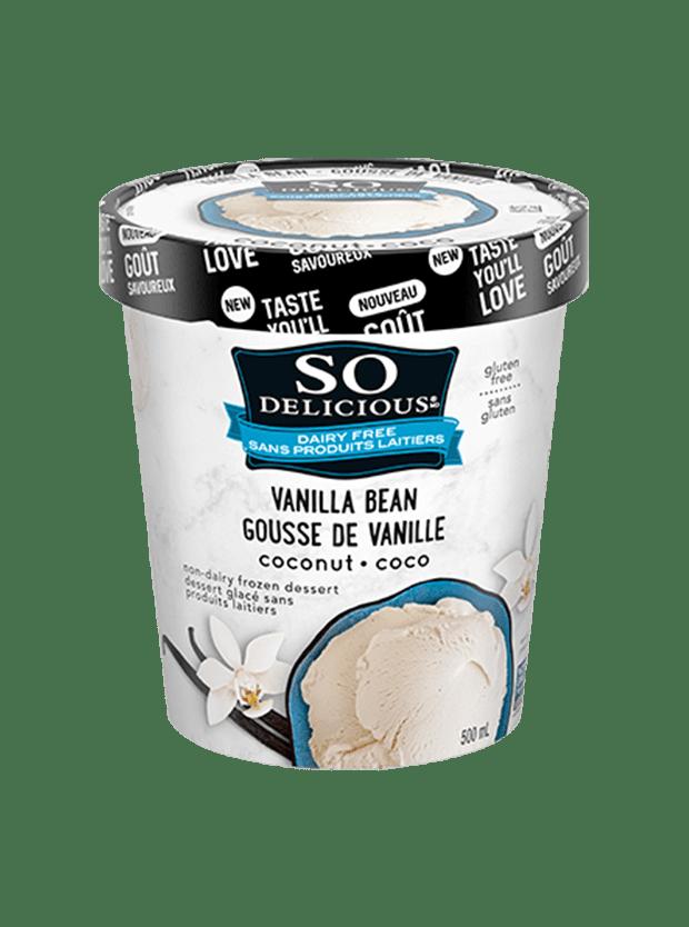 Vanilla Bean Coconutmilk Frozen Dessert