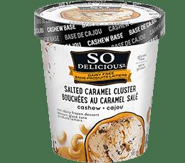 Salted Caramel Cluster Cashewmilk Frozen Dessert
