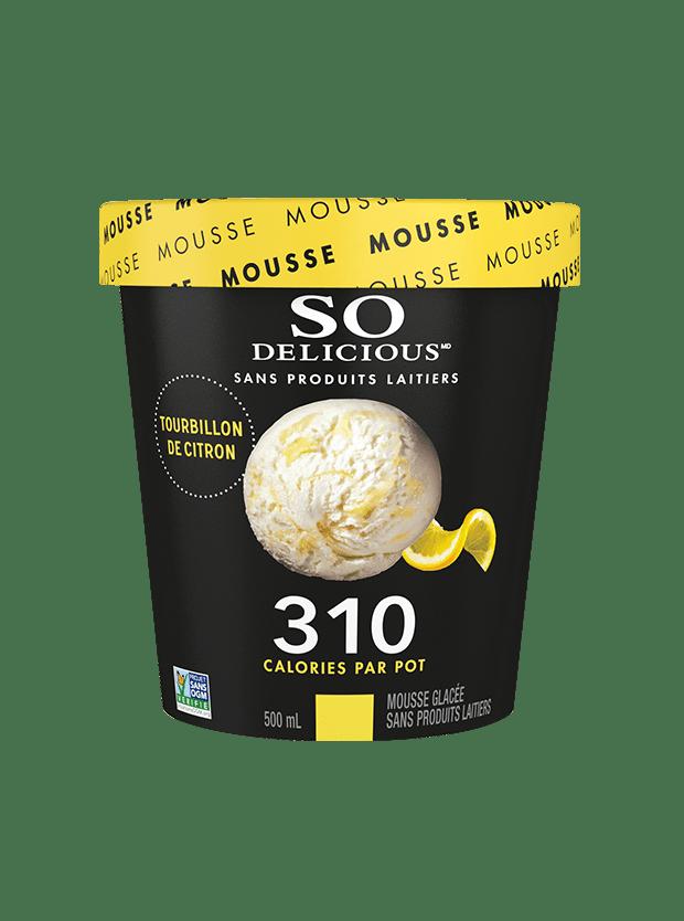 Mousse Faible En Calories Tourbillon De Citron